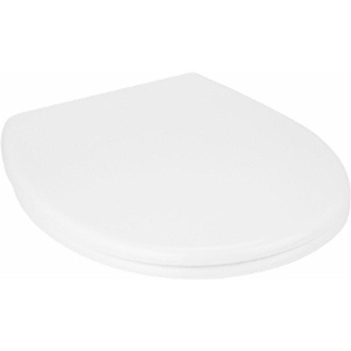 The Range Soho White Duroplast Toilet Seat - White