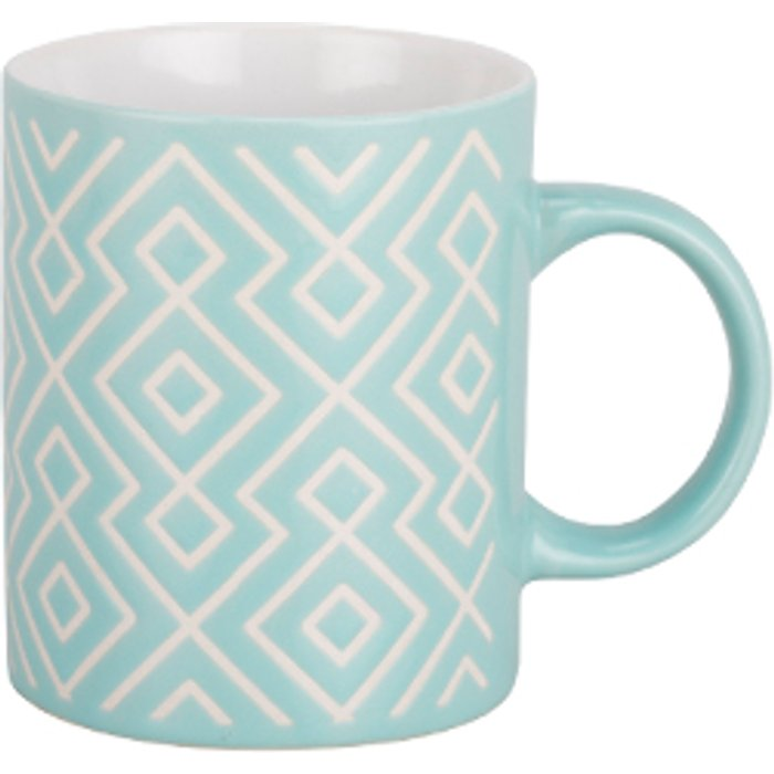 The Range Stoneware Patterned Mug