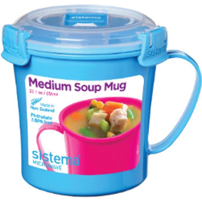 Sistema Soup Mug To Go - Blue