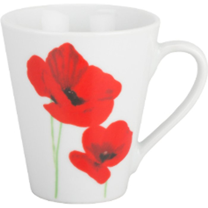 The Range Poppy Garden Conical Mug