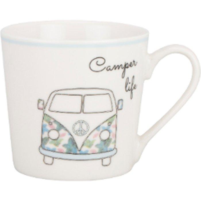 The Range Camper Life Conical Boston Mug