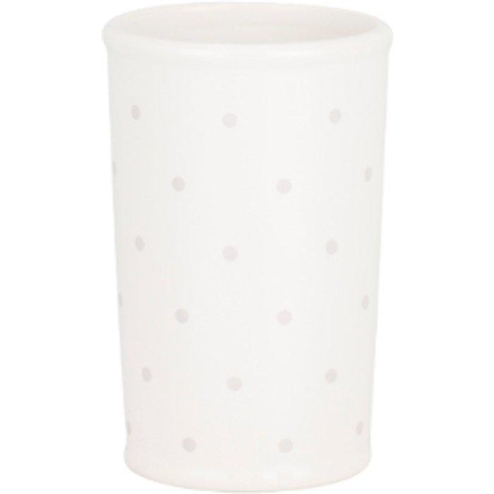 Victoria Rose Victoria Rose Ceramic Tumbler - White