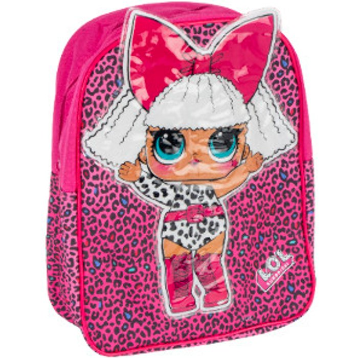 LOL Surprise LOL Surprise Back Pack with PVC Character