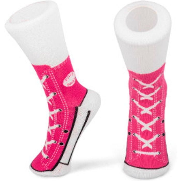 The Range Sneaker Socks - Pink