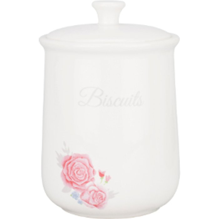 The Range Victoria Rose Biscuit Canister