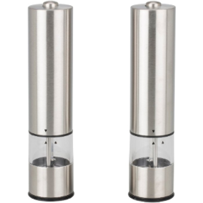 The Range Mayfair Electric Salt And Pepper Mill Set