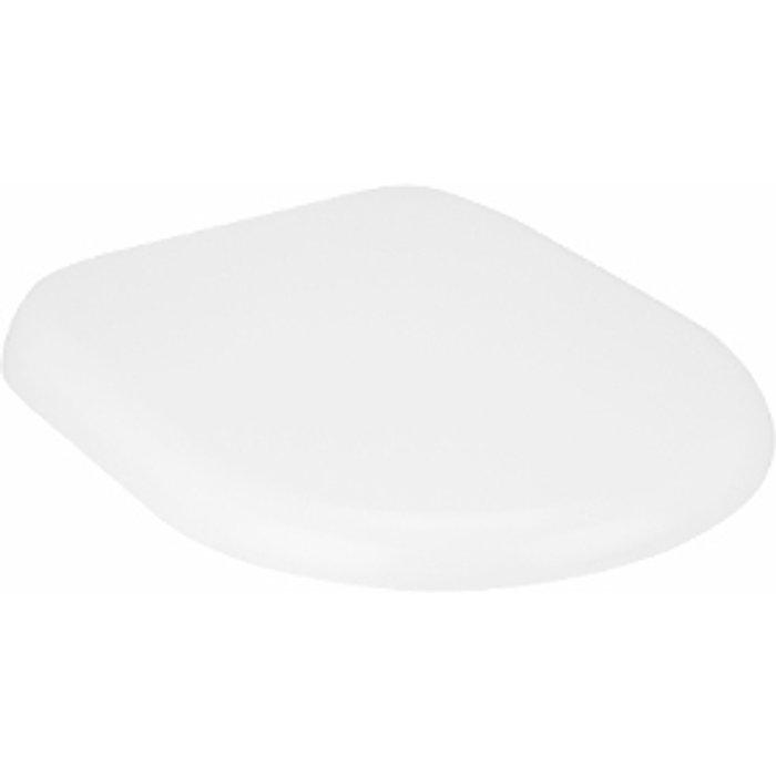 The Range Broadway White Duroplast Toilet Seat - White