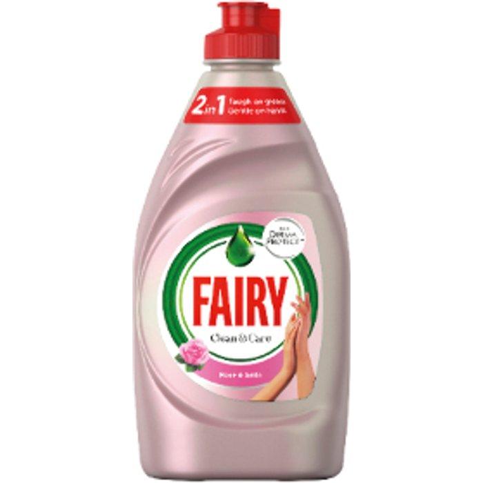 Fairy Fairy Clean & Care Washing Up Liquid - 383ml