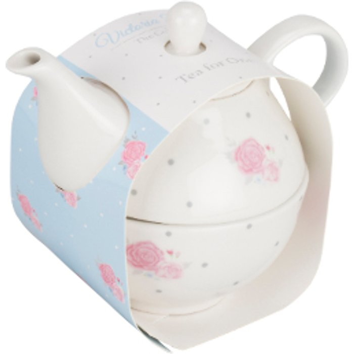 The Range Victoria Rose Tea For One Set