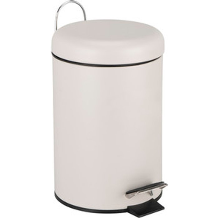 The Range 3L Dome Pedal Bin - Fawn
