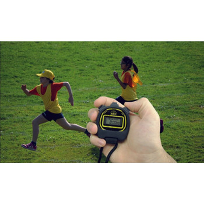 Slingsby Economy Digital Stopwatch - Black
