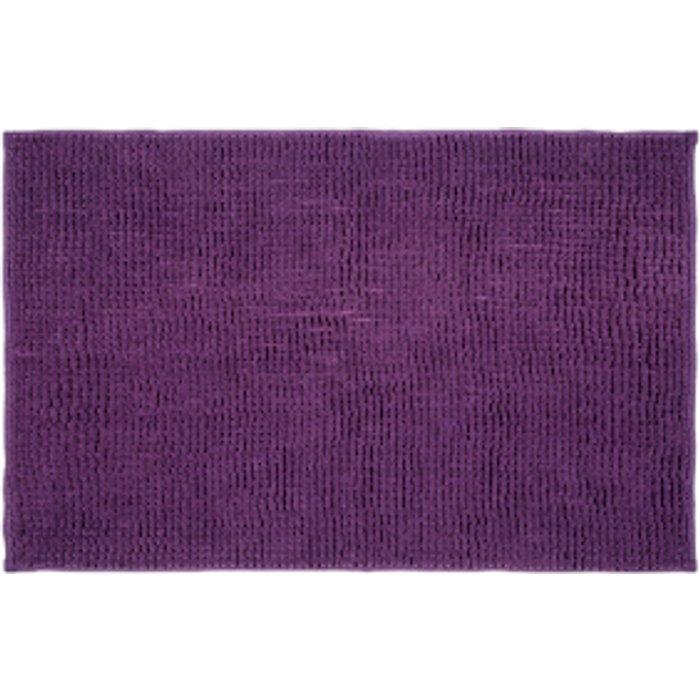 The Range Microchenille Bath Mat - Purple