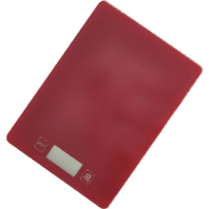 The Range Glass Platform Scale - Red