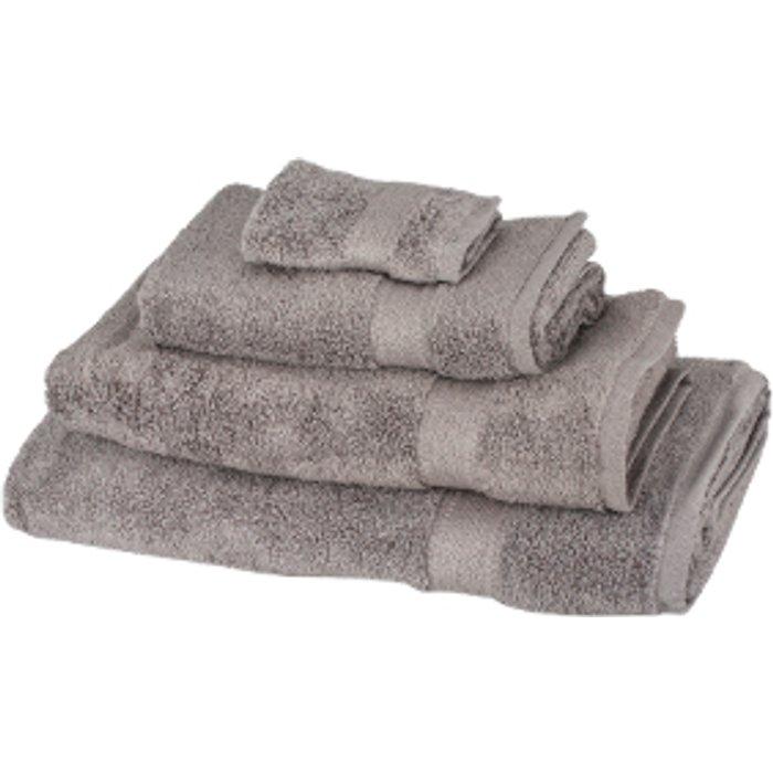 The Range Zero Twist Bath Towel - Pewter