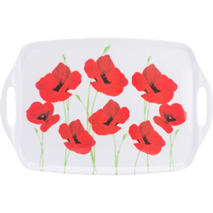 The Range Poppy Garden Handled Tray