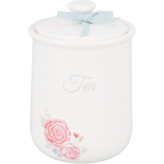 The Range Victoria Rose Tea Canister