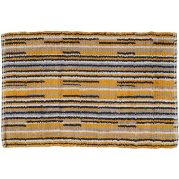 The Range Skinny Stripe Bath Mat - Ochre