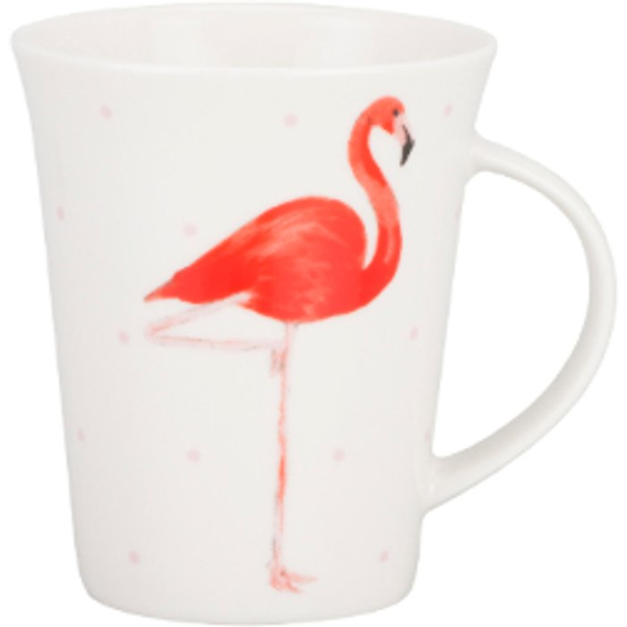 The Range Flared Flamingo Mug