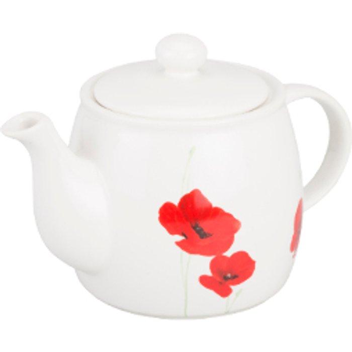 The Range Poppy Garden Teapot