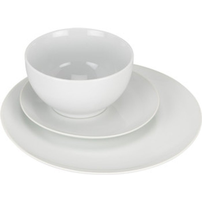 The Range Imperial White Coupe 12 Piece Dinnerset