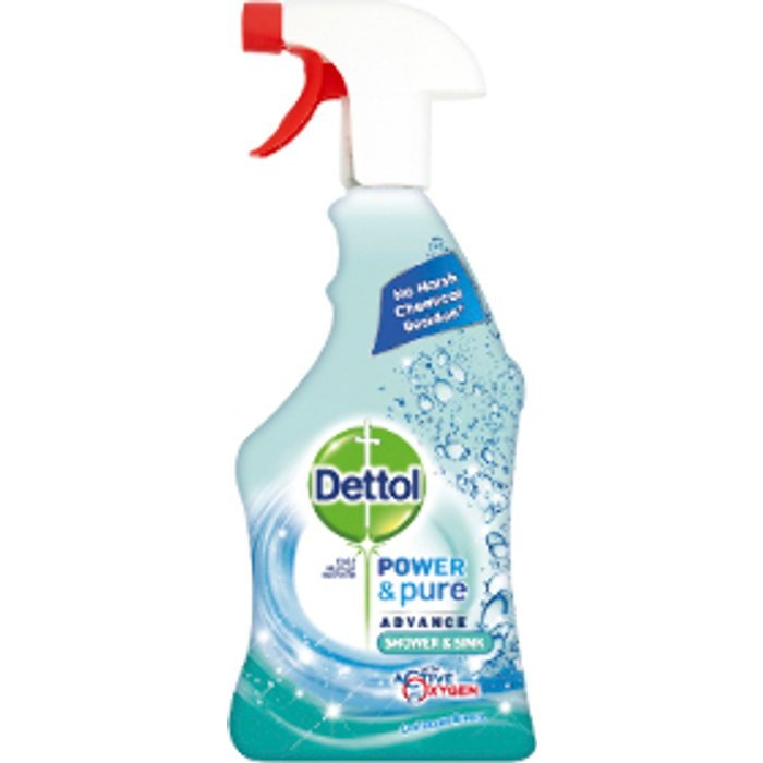 Dettol Dettol Power & Pure Shower and Sink Spray