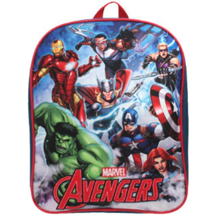 Peppa George Marvel Avengers Team Force Backpack
