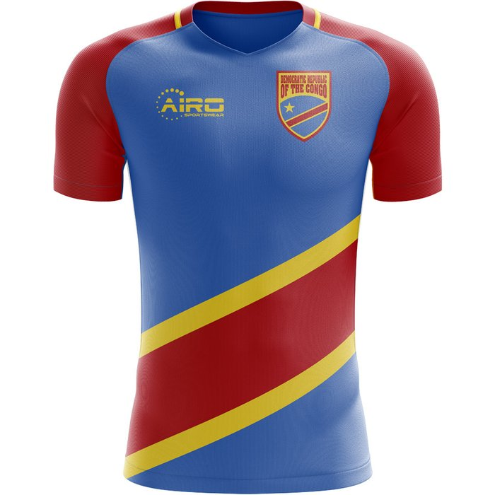 Airo Sportswear 2018-2019 DR Congo Home Concept Football Shirt - Womens