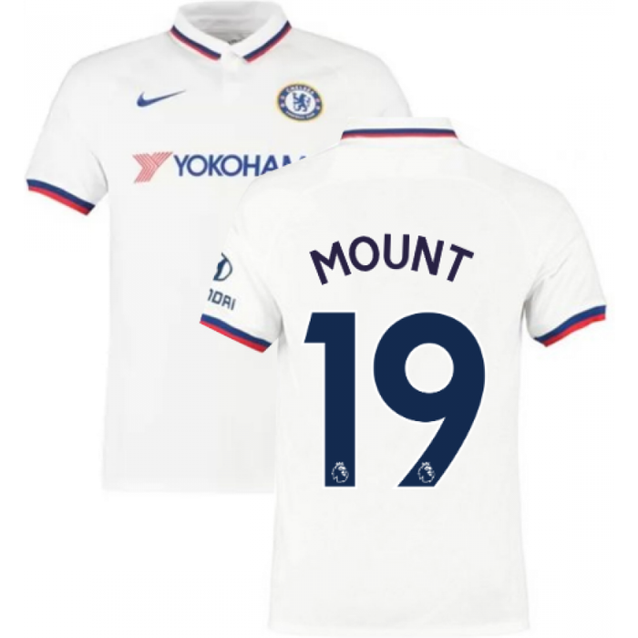 Nike 2019-2020 Chelsea Away Nike Football Shirt (Kids) (Mount 19)