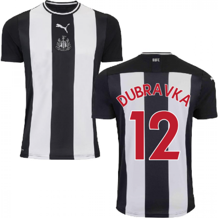 Puma 2019-2020 Newcastle Home Football Shirt (Kids) (DUBRAVKA 12)