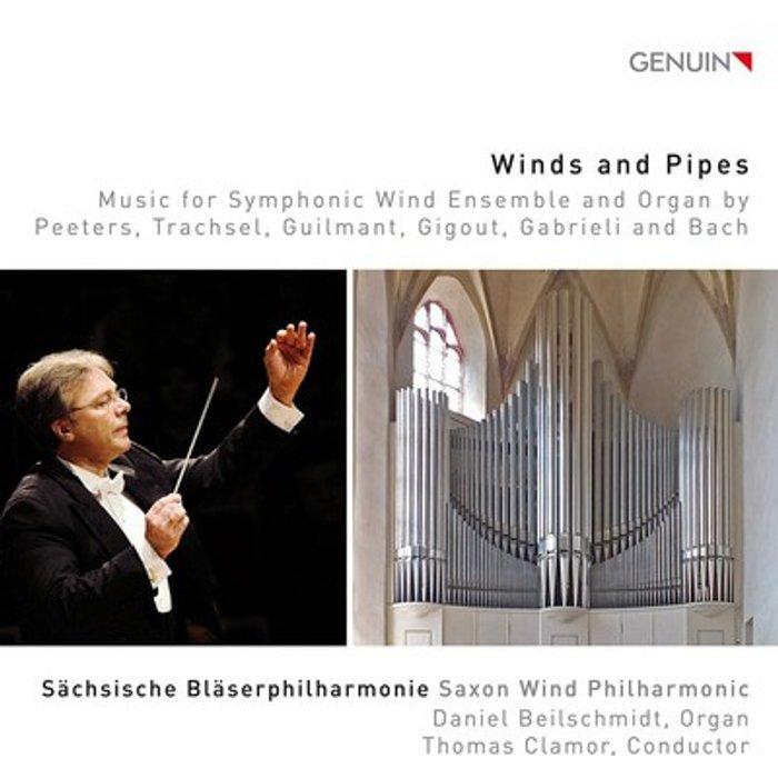 Flor Peeters Winds And Pipes [Saxon Wind Philharmonic Daniel Beilschmidt, Thomas Clamor] [Genuin Classics: GEN16445]