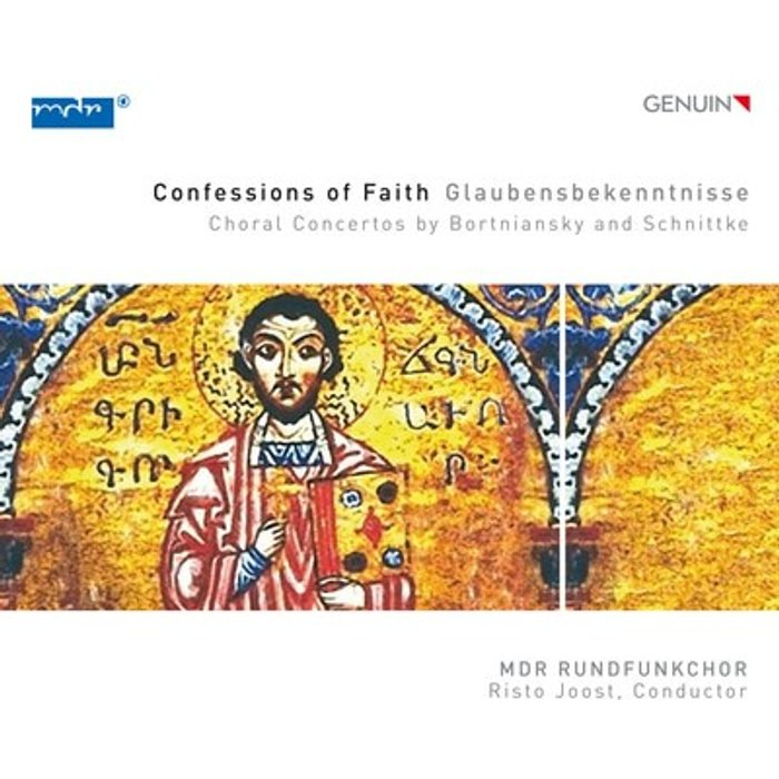 Dmitry Bortniansky Confessions Of Faith: Choral Concertos By Bortniansky And Schnittke [Genuin Classics: GEN17450]