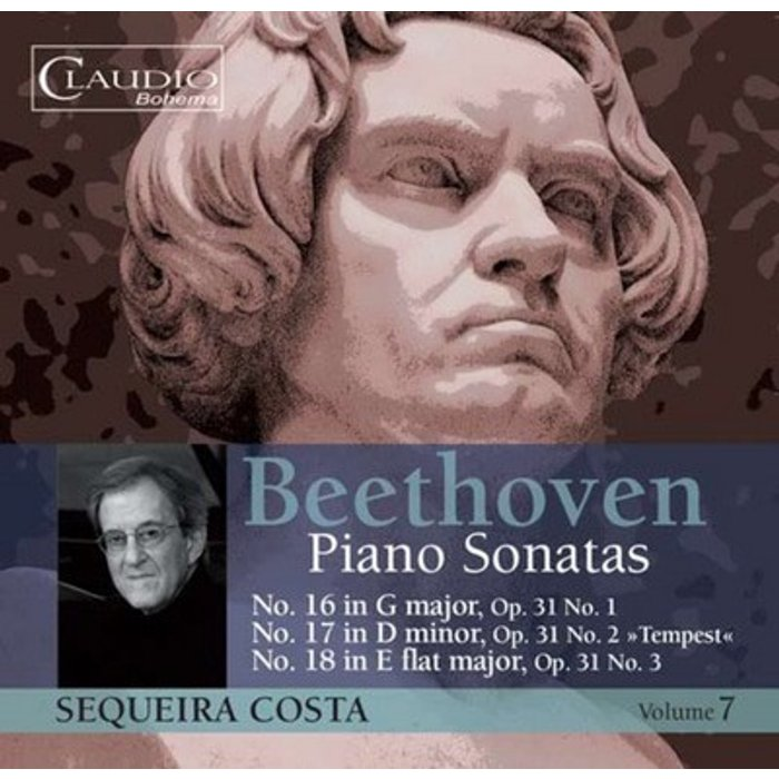 Ludwig van Beethoven Beethoven: Piano Sonatas, Vol. 7 [Sequeira Costa] [Claudio Records:CB5577-2]