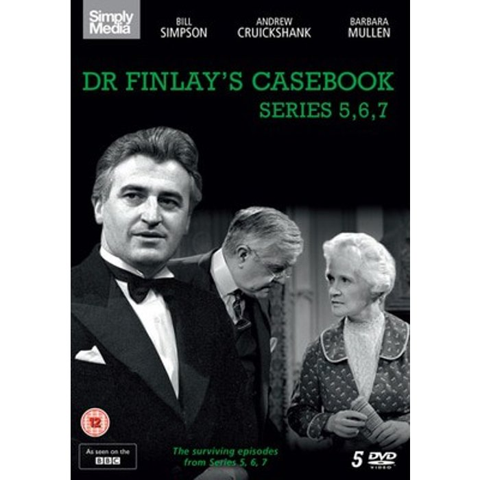 Bill Simpson Dr Finlay's Casebook: Series 5,  6 and 7 New  DVD Boxset