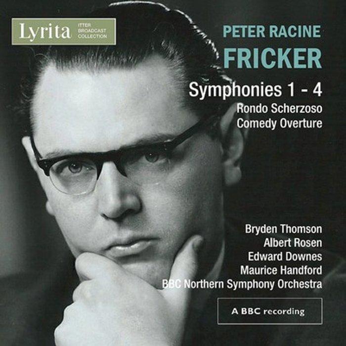 Peter Racine Fricker Fricker: Symphonies Nos. 1 - 4