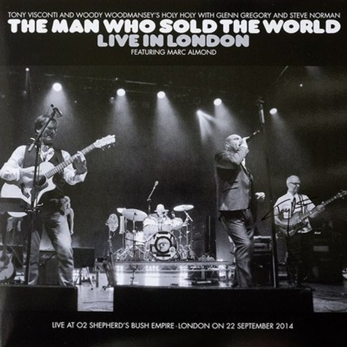 Tony Visconti and Woody Woodmansey's Holy Holy The Man Who Sold The World - Live in London [VINYL]
