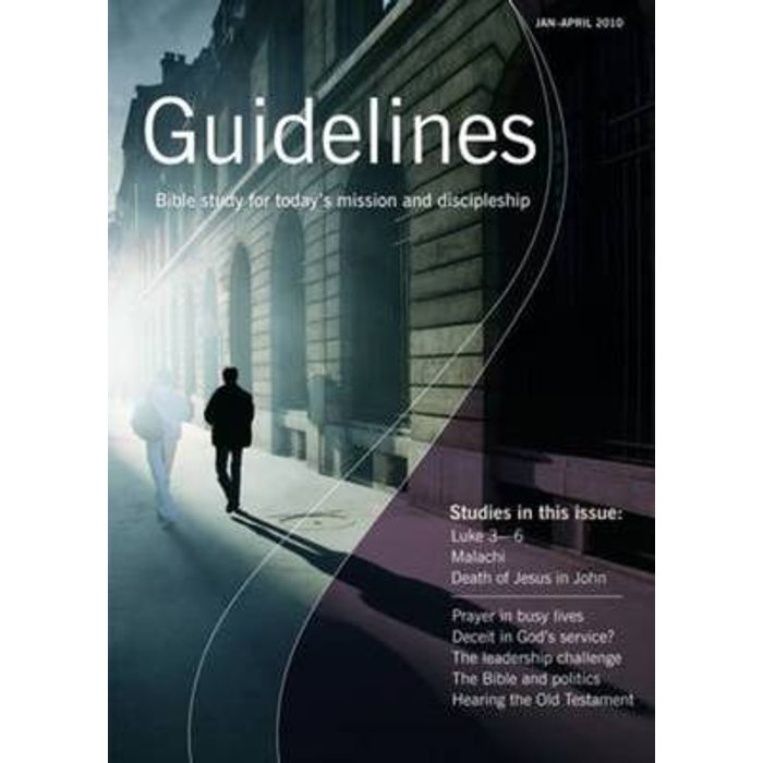 Guidelines, January-April 2010 - Jeremy Duff