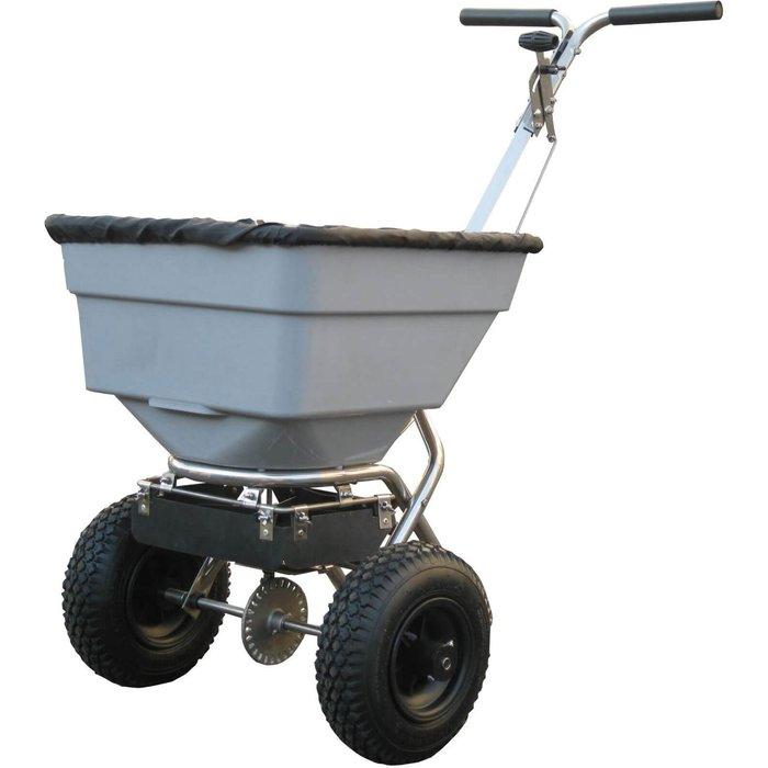 Handy Handy THSS100 Stainless Steel Push Feed, Grass & Salt Broadcast Spreader 45kg