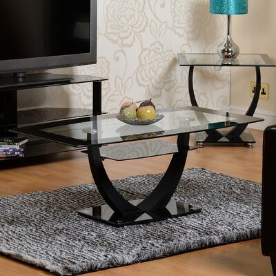Norfolk coffee table with storage