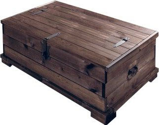 Vivian coffee table trunk