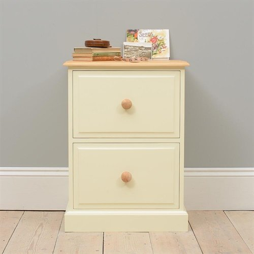 Photo of Wiltshire painted 2 drawer filing cabinet