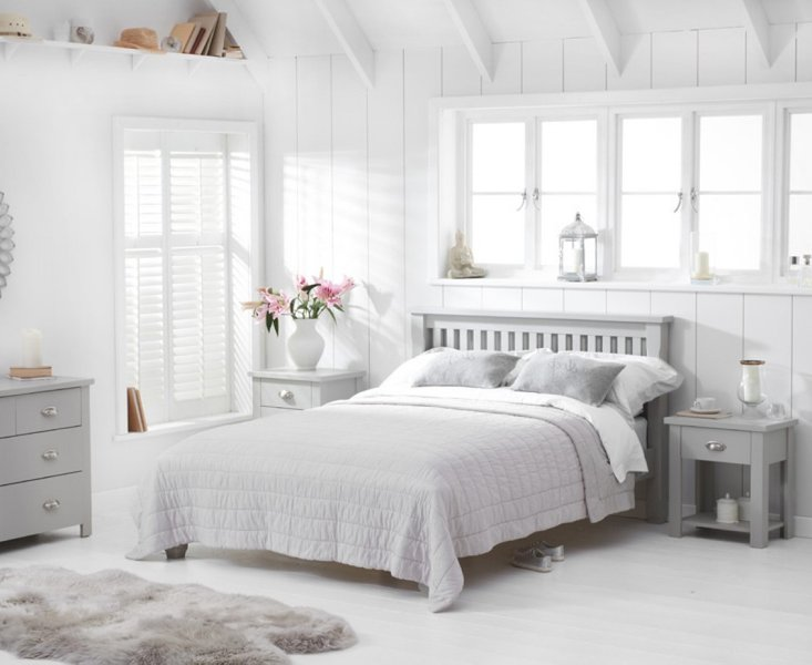 Photo of Somerset grey double bed