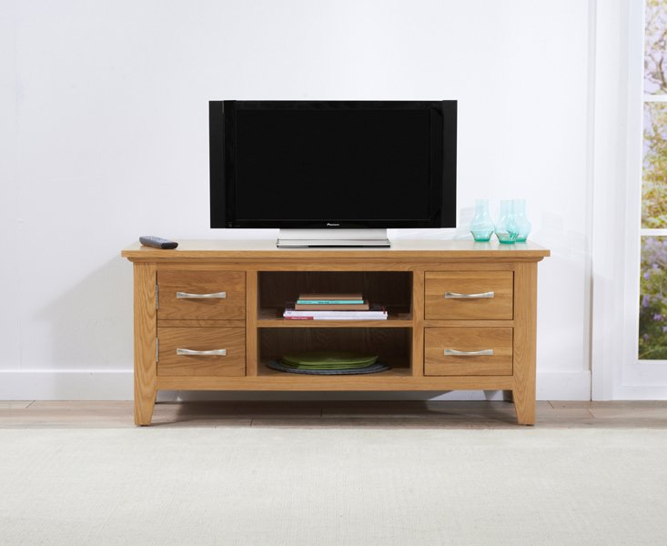 Photo of Cheadle 120cm oak tv unit