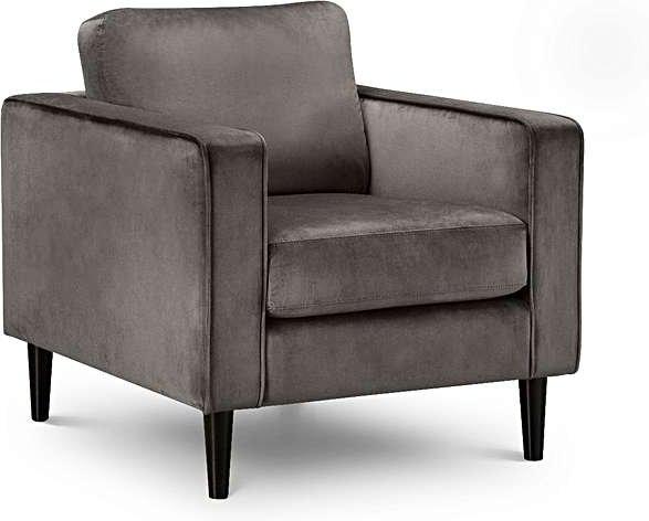 Photo of Hazel velvet armchair