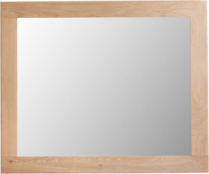Photo of Ruby large oak wall mirror