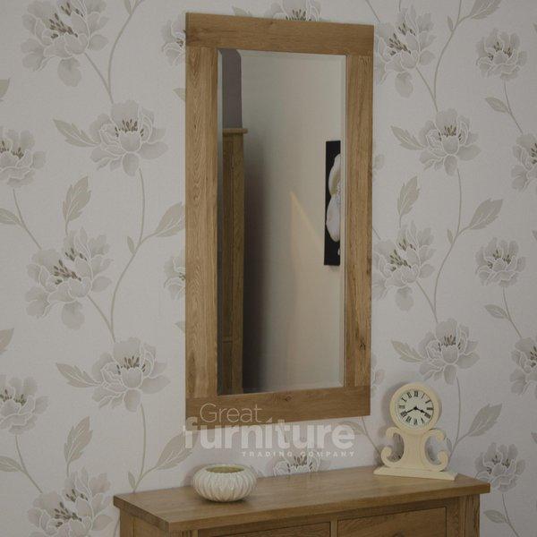 Photo of Opus oak 1150 x 600 mirror