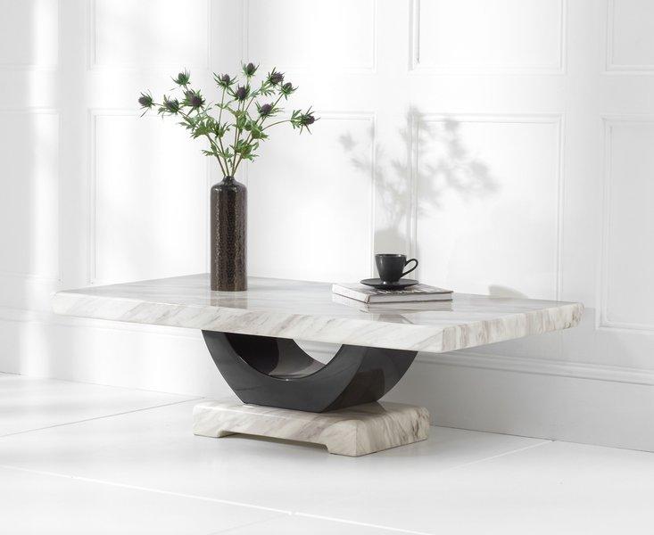 Photo of Raphael cream marble coffee table