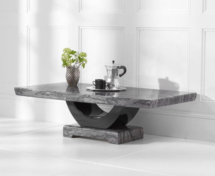 Photo of Raphael dark grey marble coffee table