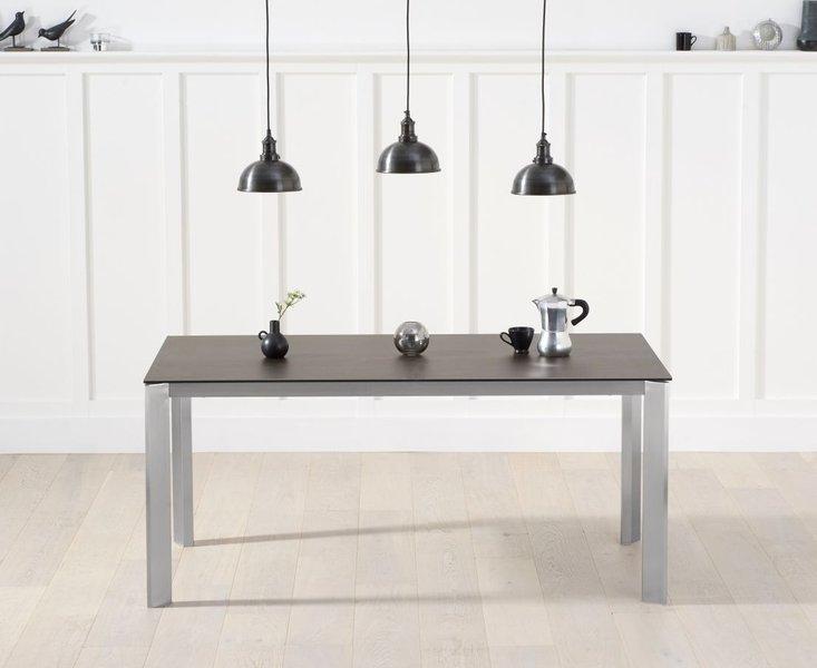 Photo of Antonia 170cm mink/brown spanish ceramic dining table