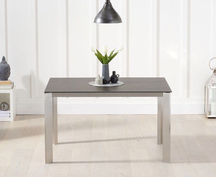 Photo of Antonia 130cm mink/brown spanish ceramic dining table