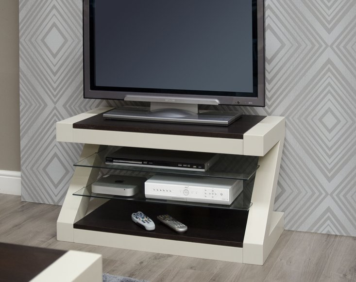 Photo of Z painted tv cabinet with wenge oak top